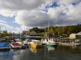 Sunapee Harbor  Lake Sunapee  New Hampshire  USA