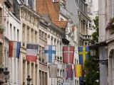 Flag  Brussels  Belgium
