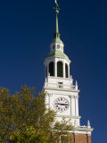 Baker Hall on the Dartmouth College Green in Hanover  New Hampshire  USA