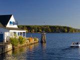 Wolfeboro Dockside Grille on Lake Winnipesauke  Wolfeboro  New Hampshire  USA
