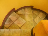 Abstract Pattern on Stairs  San Miguel De Allende  Mexico