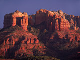 Cathedral Rock at Sunset  Sedona  Arizona  USA