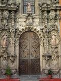 Wooden Doors Found on the Basilica De Nuestra Senora De Guanajuato