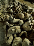 Broken Body Parts Await Reassembling in China's Great Terracotta Army