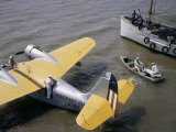 Coast Guard Flyers Take a Sick Man from a Shrimp Boat to a Plane