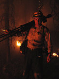 Photographer on Assignment Covering Forest Fires