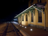 Gettysburg Train Station at Night