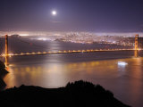 San Franciso and the Golden Gate Bridge  from the Marin Headlands