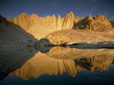 Mount Whitney Reflected in a Nearby Mountain Tarn