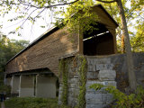 Meems Bottom Covered Bridge Is a Scenic 188-Foot-Long Single Span