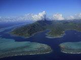 Aerial View of Raiatea Island