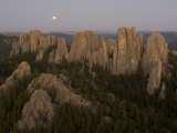 Needles Protrude from Forests in Custer State Park