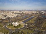 Mall  Lincoln Memorial  Washington Monument  and Reflecting Pool