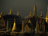 Roofs  Spires  and Steeples in the Grand Palace Complex  Bangkok