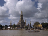 Wat Arun Temple Towers over the Muddy Waters of the Chao Phraya