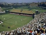 Spectators Crowd Grandstands During 1950 Davis Cup Tennis Competition