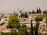 Jerusalem  Israel  High Angle View of Homes in Yemin Moshe