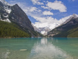 Clear  Clean Water and Majestic Mountain Scenery at Lake Louise
