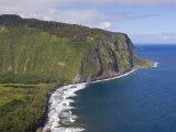 Waipio Valley and Large Coastal Cliffs on Hawaii