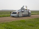 Tornado Intercept Vehicle in Search of Tornados to Drive Into