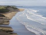 Whiterocks Beach from Dunluce Road Near the Seaside Town of Portrush