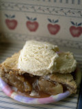 Apple Pie A' La Mode  or with Ice Cream on Top