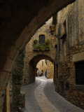 Street in the Medieval Town of Pals