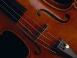 Close-View of a Violin