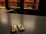 Bars of Gold Inside the Largerst Exporter of Gold in the World