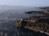 Split Rock Lighthouse on the Palisades Overlooking Lake Superior