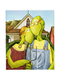 American Gothic Turtle
