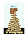 Go Nuts Reproduction d'art