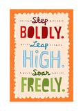 Step  Leap  Soar