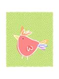 Chicken over Polka Dots