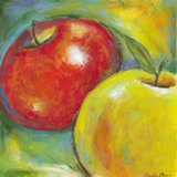 Abstract Fruits IV Reproduction d'art par Chariklia Zarris