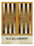 Backgammon Reproduction d'art par Norman Wyatt Jr.