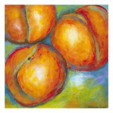 Abstract Fruits II Reproduction d'art par Chariklia Zarris