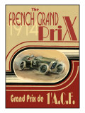 French Grand Prix 1914- Poster