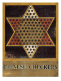 Chinese Checkers Reproduction d'art par Norman Wyatt Jr.