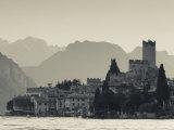 Veneto  Lake District  Lake Garda  Malcesine  Lakeside Town View  Italy