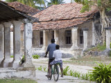 Crumbling Colonial Villas on Ibo Island  Part of the Quirimbas Archipelago  Mozambique