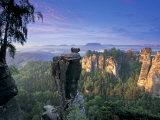 Bastei Rocks  Swiss Saxony  Germany