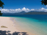 Beach on Fitzroy Island  Queensland  Australia