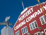 California  Monterey  Cannery Row  USA