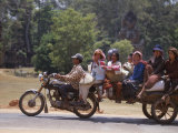 Motorcycle Bus  Cambodia