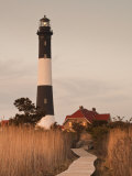 New York  Long Island  Fire Island  Robert Moses State Park  Fire Island Lighthouse  USA
