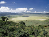 World Famous Ngorongoro Crater  102-Sq Mile Crater Floor Is Wonderful Wildlife Spectacle  Tanzania