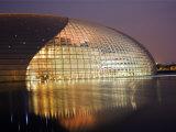 Beijing  the National Grand Theatre Opera House  China