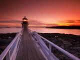 Maine  Port Clyde  Marshall Point Lighthouse  USA