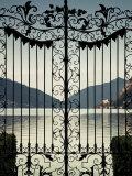 Ticino  Lake Lugano  Lugano  Parco Civico Gate Lake View  Switzerland
